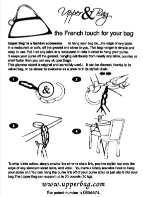 instructions hanger bag s